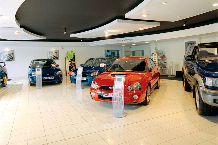 Subaru Showroom